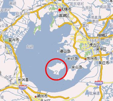 西山,太湖