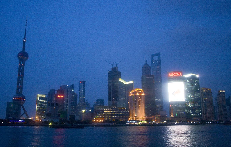 new skyline shanghai